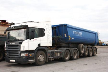 Аренда сцепки Тонар в Новосибирске