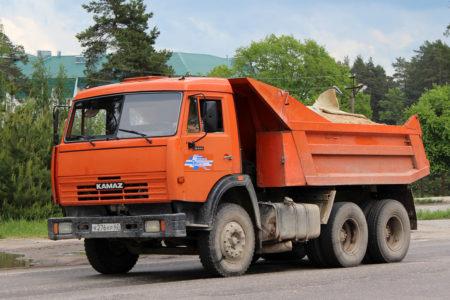 Аренда Камаз самосвал 13 тонн в Новосибирске