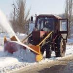 Аренда ротора для уборки снега в Новосибирске