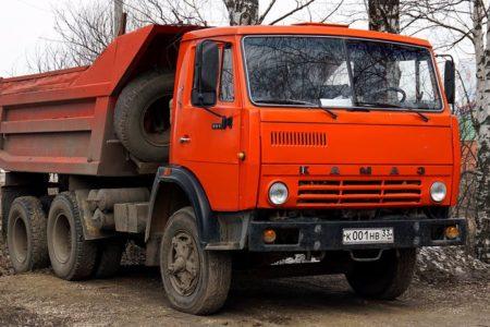 Аренда Камаз самосвал 10 тонн в Новосибирске