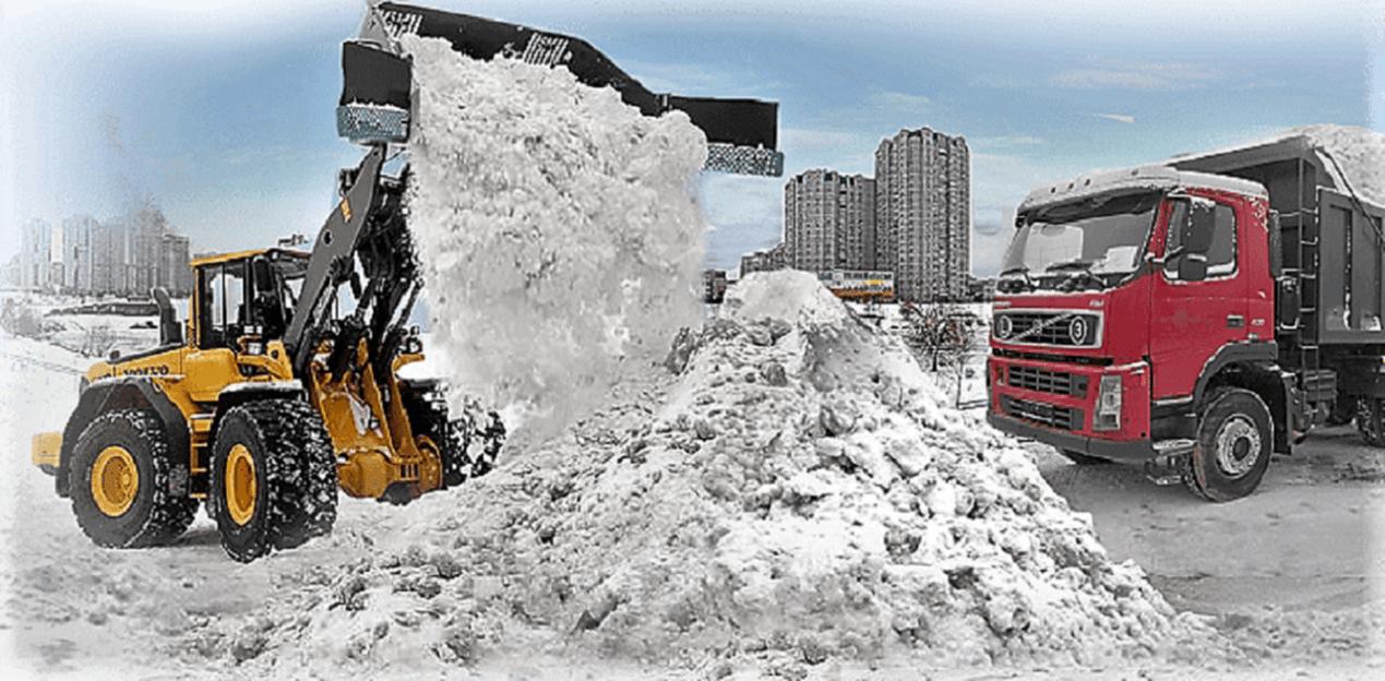 Уборка и вывоз снега в Новосибирске
